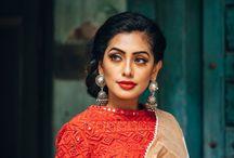 saree look