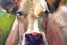 Malerei Tiere