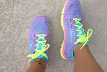 Run girl, run / Running shoes