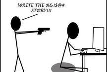 Writing Stuff / by A.K. Miller