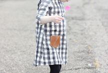 cosiendo vestido niña