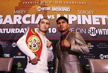 Mikey Garcia vs Sergey Lipinets - Boxing, March 10, 2018 on Showtime