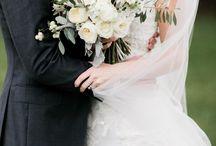 White Wedding Bouquets!