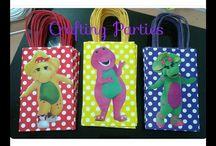 Barney party ideas