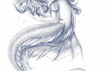 sirène et créatures ♥