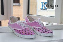 K-Designs Finished works / Shoes, Zapatillas, Sko!!