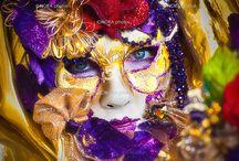 venitiaanse maskers / Maskers om te tekenen/ schilderen