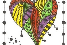 Doodling and Drawing / drawing, sketching, zentangle, art / by Tammy Hanley