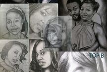 de l'art pure / this is a way for me to express fine art by use of pencil. pen and   other,..just to make the picture live  as in reality .