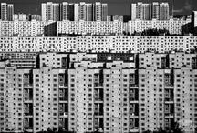 Tower blocks / Towers. Blocks. Buildings. Love.