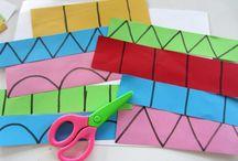 Learning shapes - Formák tanulása / Learning can be fun! Try it with shapes! A tanulás lehet szórakoztató! Próbáld a formákkal!