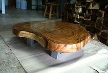 wood solid slab