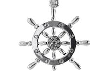 Ocean & Nautical Charms / Charms and pendants to celebrate ships, boats and everything humanly related to the sea. Sterling silver, gold and some with enamel. For sea creatures, see our 'Fish & Sea Life Charms' board. ★ silverstarcharms.com