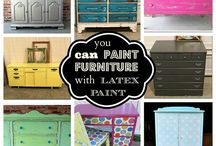 DIY Furniture/Home Ideas / by Olivia Rosace
