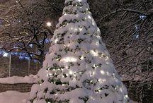 nieve, invierno