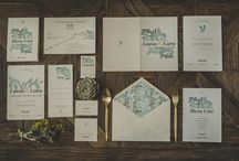 'A mar sabe el amor', la primera colección de papelería de bodas de Loveratory