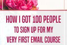 Entrepreneur   Email Marketing Tips / email marketing, email tips, newsletter, mailchimp, convertkit, ems, marketing, inbox,
