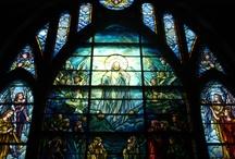 Grace-St. Luke's Tiffany Windows / by Sandy Baker