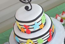 Music theme birthday