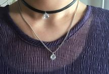 FREE Leather Choker with Crystal Charm Necklace - Just Pay Shipping!