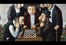 Chess / Paintings of people playing chess