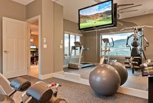 Best Home Gym Ideas / What ever size space you have at home, anyone can put together their very own home gym.