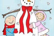 Stitching: Snowmen / by Eddi Miglavs