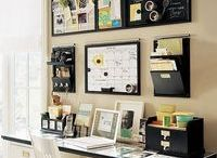 Home Office Ideas and Inspiration / Office inspiration for my dream office. Blogger office, work from home style and more! If you need office decor ideas, look no further!  / by Randa @ The Bewitchin' Kitchen | Recipes, Family, Health |
