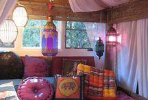 Outdoor Boho Spaces