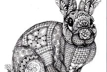 zentangle Adult coloring