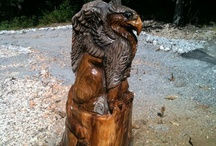 On-Site Stump Carvings / On site / stump Carvings by Jason Morton with Eagle Ridge Chainsaw Carvings. Located in Springfield, Missouri! Check out our website at www.eagleridgesawworks.com or visit us on Facebook at www.facebook.com/eagleridgechainsawcarvings  We are sponsored by Crader Distributing, STIHL Distributor http://www.cdcbmestihl.com/