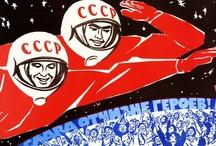 Soviet Space Propaganda Posters / by Natasha Jen