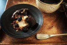 Food and tableware / The food in Yoichi ceramic works