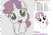 punto croce pony
