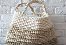 crochet bag, basket etc.
