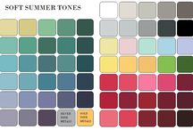 color palette soft shaded summer