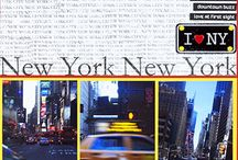 New York Layouts / Ideas for New York Pages