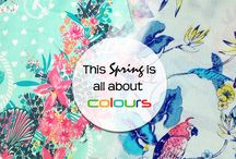 The Colour of Spring / Collection of different color and style for this summer