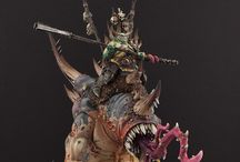 Beastmen / Inspiration for wicked and twisted, mutated beastmen for WHFB
