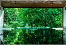 hot springs 温泉