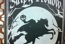 Legend of sleepy hollow party / themed Halloween party