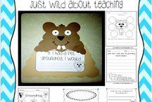 Groundhog / by Always First Grade
