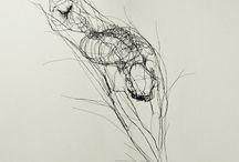 ART - WIRED sculpture / wire sculpture / by Karen Keimig Warner