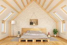 73 Dachboden Master Schlafzimmer Design-Ideen (Bilder)