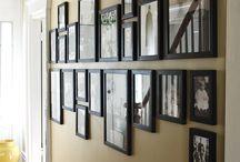 Photo hanging ideas