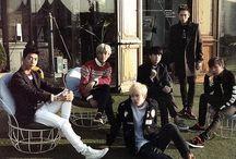 B.A.P / Members Yongguk Himchan Daehyun Youngjae Jongup Zelo
