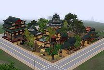 Sims 3 - Asian World - Community