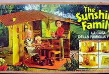 "The Sunshine Family and The Star Spangled Dolls / The Sunshine Family or ""The Good Earth Family"" 1974-1982 by Mattel , and  The series of Star Spangled Dolls were released in 1975 and 1976 because of the bicentennial of the United States of America in 1976."