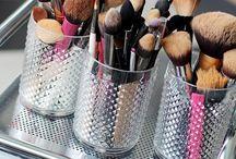 Organizando Maquiagem