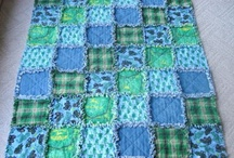 Making a rag quilt